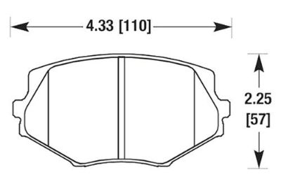 Buy HAWK HB149Z.505 - 94-97 Mazda Miata Front Brake Pads Ceramic motorcycle in Chino, California, US, for US $81.66