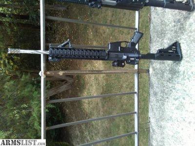 For Sale/Trade: AR 15 18 inch spiral Flutted barrel