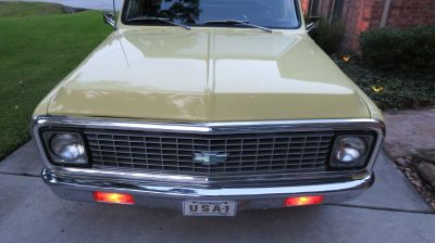 1972 CHEVY C-10 FINE RIDE TRADE