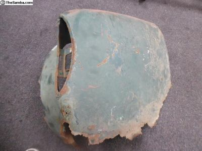 1960-1969 Karmann ghia passenger rear quarter
