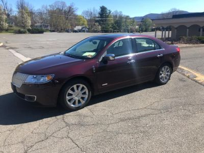 2011 Lincoln MKZ Hybrid Base (Bordeaux Reserve Metallic)