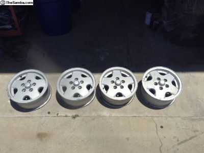 Vanagon alloy wheels set of 4