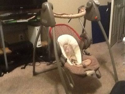 Graco Duo 2 in 1 Musical Swing  Bouncer