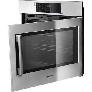 "New in box Bosch HBLP451RUC 30"" Benchmark Series Right Swing Single Oven in Stainless Steel"