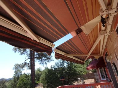 2 Sunsetter Awnings 13ft $800 ea or 2 $1400