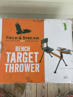 Field and Stream Bench Target Thrower