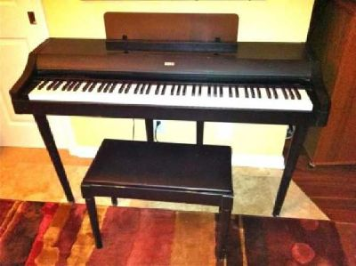 $245 Electronic Piano w/legs & bench=Concert C-30 Korg (brand)
