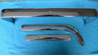 Find 63, 64, 65? Pontiac Chevrolet BUCKET SEAT Trim **RECHROMED** SHOW**CHROME TRIM motorcycle in Bend, Oregon, US, for US $249.00