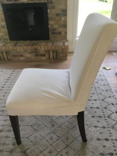 2 IKEA Parsons Dining Chairs