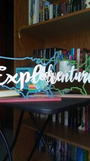 Explore and adventure maps decor