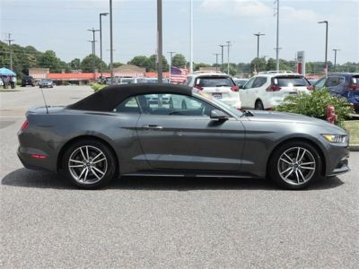 2016 Ford Mustang 2dr Conv EcoBoost Premium (Gray)