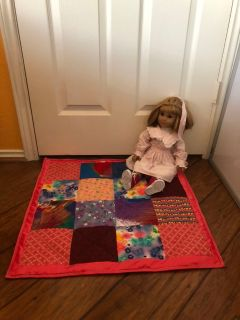 Picnic Quilt for American Girl/My Life Doll