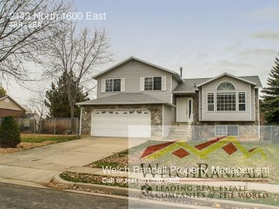 Single-family home Rental - 2143 North 1600 East