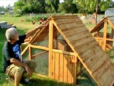 ON SALE - Portable Coop for Free-Range Chickens RANCH-COOP.COM