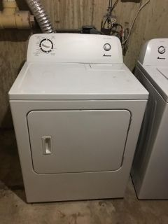 Amana Washer & Electric Dryer