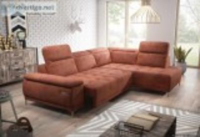 New reclining sofa with fold-out bed