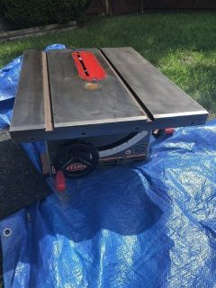 Craftsman table saw- Belt Drive(please read description)