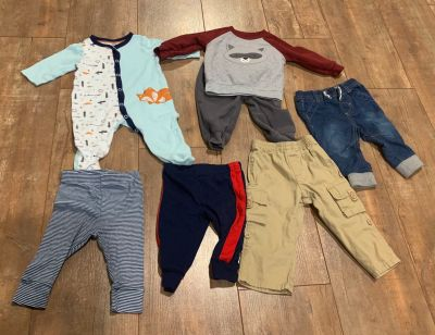 Baby Boys Size 3-6 Months Fall Winter Clothes