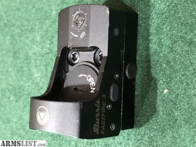 For Sale: Burris FastFire 3 Red Dot