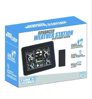 Think Gizmos advanced weather station with remote sensor