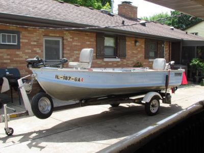 Fishing Boat,Motor & Trailer