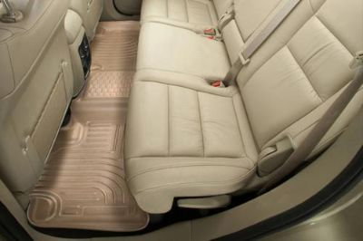 Purchase Husky Liners 19243 2014 Chevy Silverado Tan Custom Floor Mats 2nd Row motorcycle in Winfield, Kansas, US, for US $108.95