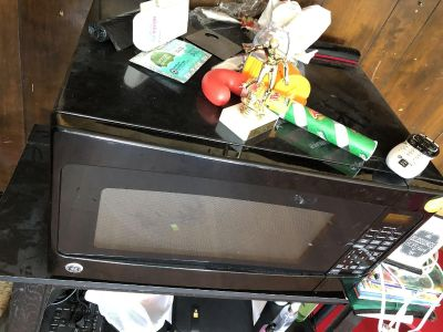 large microwave with stand more details below