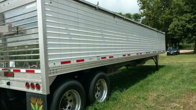 2018 Timpte 40 Trailer for sale in Metamora, Illinois.