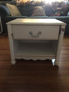Project piece nightstand/side table