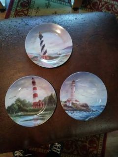 3 Lighthouse plates