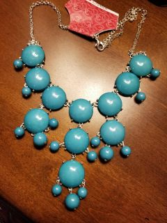 New Turquoise Bubble Necklace