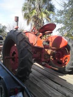 Selling 48 international fc tractor