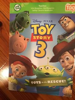 Leap Frog Tag Toy Story 3 Paperback