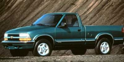 1998 Chevrolet S-10 Base (Light Pewter (Met))
