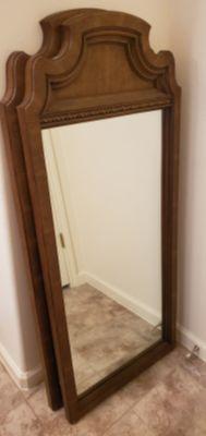 2 large heavy matching mirrors