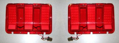 Purchase NEW 1967-1968 Mustang LED Tail Lights Sequential PAIR motorcycle in Millersville, Maryland, United States, for US $159.95