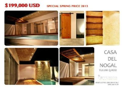 $199,000 Vacation Home ~ Tulum ~ Income Property -> FOR SALE
