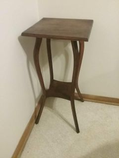 Beautiful antique small sturdy little table