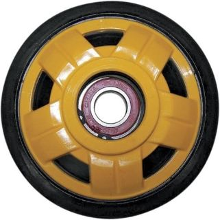 Find Parts Unlimited Yellow Idler Wheel w/Bearing Yellow/ 141mm x 20mm R0141D-2-401A motorcycle in Loudon, Tennessee, United States, for US $24.95