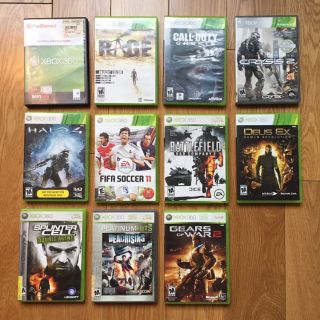 Lot of 11 Xbox 360 video games - great value!