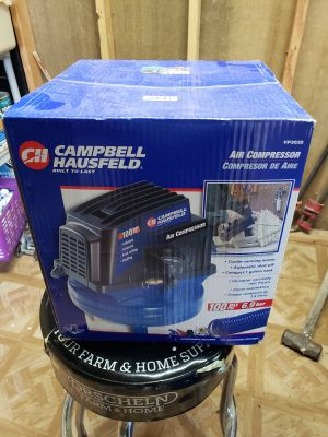 Brand new unopened air compressor