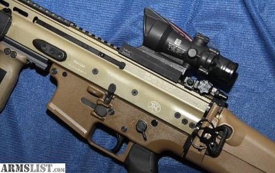 For Sale: FN SCAR 16S FDE and Trijicon ACOG, Geissele