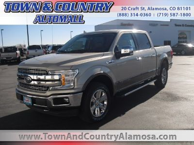 2018 Ford F-150 Lariat (White Gold)