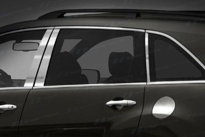 Buy SES Trims TI-P-177 07-11 Acura MDX Door Pillar Posts Window Covers Trim 6 Pcs 3M motorcycle in Bowie, Maryland, US, for US $83.20