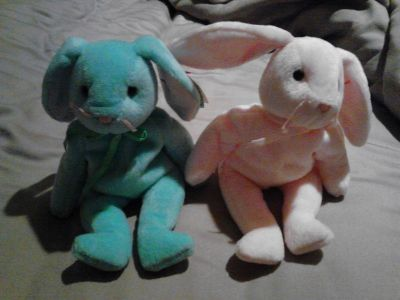 LOOK-A-HERE!!!! RARE & MISSPELLED COLLECTABLE TY BEANIE BABIES