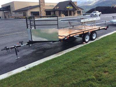 2017 Other QUADTRAX 8X16 SPORT Trailer Kamas, UT