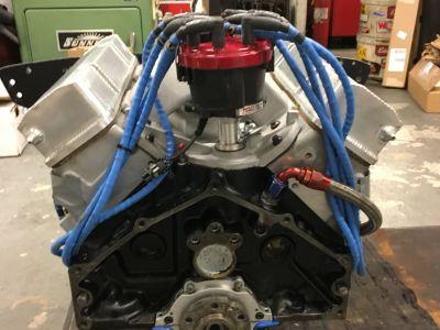 Chevy 18 Degree 358 Vintage Road Race Engine SVRA HSR sbc