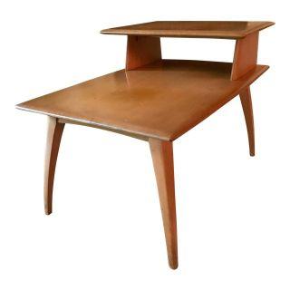 Mid Century Side Table Heywood Wakefield Vintage