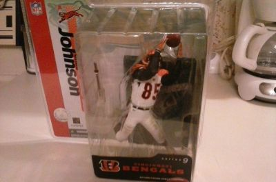 Bengals Chad Johnson action figure