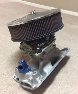 Holley 1050 dominator carburetor setup
